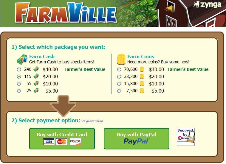 Farmville-virtual-goods